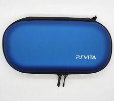Blue Hard Case Protective Carry Cover Bag Pouch For Sony PS Vita PSV 1000 2000