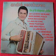 Andre Verchuren, un p'tit chapeau Tyrolien, LP - 33 Tours
