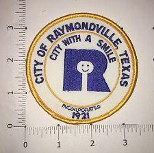 City of Raymondville, Texas Patch - vintage
