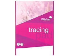 Silvine A4 Tracing Paper Pad  40 Sheets (REF-A4T)