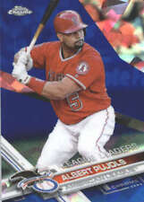 ALBERT PUJOLS 2017 TOPPS CHROME SAPPHIRE EDITION #322 ONLY 250 MADE