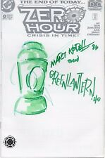 ZERO HOUR #0 SIGNED/REMARKED by Marty Nodell (creator of GA Green Lantern!)