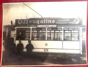 Milano Tram linea Staz. Centrale Cordusio  Staz. Nord Fiera fotografia 23X17 cm