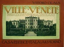 VENETO ARCHITETTURA VILLE STORICHE VOLUME ILLUSTRATO
