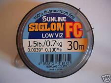 Nylon fluorocarbone Sunline Siglon 30m 0.10mm