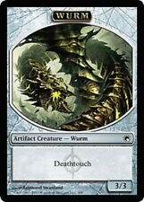 PEDINA WURM - [WURM TOKEN] (DEATHTOUCH) Magic SOM Mint Segnalino