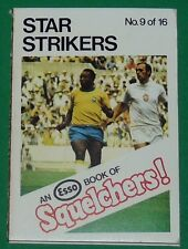 1970 FOOTBALL ESSO BOOK OF SQUELCHERS ! N°9 STAR STRIKERS