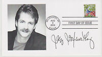 SIGNED JEFF FOXWORTHY FDC AUTOGRAPHED FIRST DAY COVER