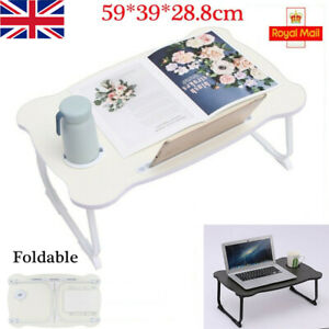 Folding Laptop Desk Table Bed Laptop Stand Lap Tray Portable Sofa Breakfast Tray