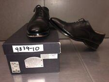 Franceschetti Barneys Cap Toe Dress Shoes Sz 43 Black Leather Made Italy #052903