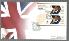GB 2012 LONDON PARALYMPIC GAMES FDC - SARAH STOREY CYCLING TRACK C PURSUIT