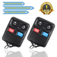 2 New Remote Keyless Entry Key Fob for Ford Escape Mustang Explorer CWTWB1U345