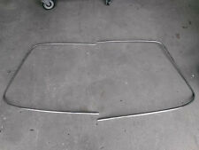 PORSCHE 911 Windshiled Aluminum Trim Moulding window with joints - OEM
