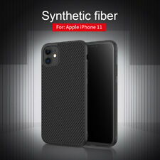 For Apple iPhone 11 Nillkin Synthetic Carbon Fiber Back Case Phone Cover