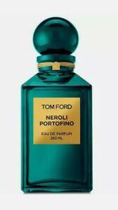 TOM FORD Neroli Portofino Eau de Parfum Perfume Decanter 8.4oz 250ml SEALED BOX