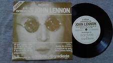 JOHN LENNON – A VERY VERY RARE BRASILIAN SINGLE WITH HIS LAST INTERVIEW