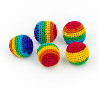 Rainbow Hacky sacks, Toys, Juggling balls, Footbag, Stress balls, Magic balls
