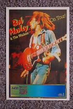 Bob Marley Concert Tour Poster 1980 Germany Die aktuellen Alben