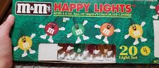 Happy String 20 Light Set For Patio, Camping, Party, Christmas Tree Decorations!