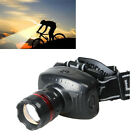 New 3W Led Headlamp Zoomable Head Light Torch Lamp Flashlight Camping Hiking