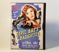 Devil Bats Daughter -1946 (DVD, 1999) VGC Tested! Rosemary La Plancha