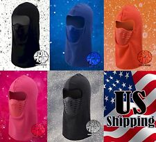 New Ninja Ski Mask Vent Balaclava Men Women Winter Neck Face Thermal Fleece