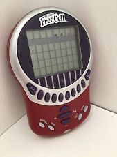 2003 RADICA Big Screen FREE CELL Solitaire LIGHTED Electronic Handheld Game