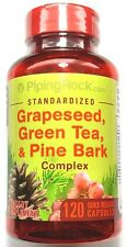 120 Capsule GrapeSeed Green Tea Pine Bark COMPLEX Extract Grape Seed Herbal Pill