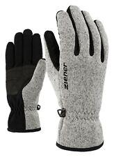 Ziener Damen und Herren Multisport Freizeit Handschuhe Imagio grau melange