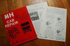 MACK TRUCK MH CAB Fiberglass Repair Service Manual book guide shop restoration