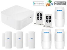 D22 IOS/Android APP WiFi IP Internet Wireless Home Security Alarm Burglar System
