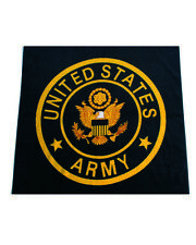 """""""ARMY"""" panno da bagno con il US Army Insignia 150x75cm Panno spiaggia wk2 WWII Bath towel"""