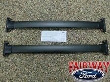 2007 2008 Escape Mariner OEM Genuine Ford Black Roof Rack Cross Bar Set 2-piece
