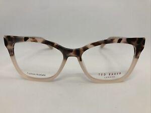 New Ted Baker TW002 PNK 53.16.135 Women's Eyeglasses Frames