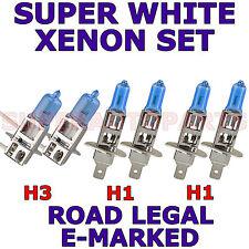 PER BMW SERIE 3 familiare 1988-1994 Set H1 H1 H3 lampadine xenon alogeno