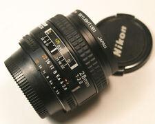 Nikon Nikkor 28mm f2.8 AF Wide Angle Prime lens made in Japan MINT