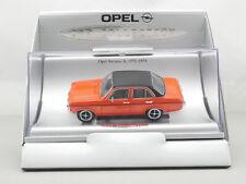 Schuco Opel Ascona A '70 Car Collection Werbemodell 1:43 TOP OVP 1609-20-10