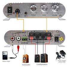 300W 12V Amplifier Booster for Car Subwoofer Home Hi-Fi 2.1 new
