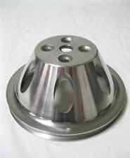 Big Block Chevy 1 Single Groove Polished Water Pump Pulley BBC Short Water Pump