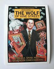 The Wolf of Vine Street Wacky Packages 2017 Garbage Pail Kids Network Spews #88