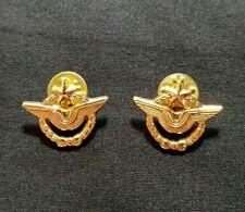 Paire de Brevets de pilote Armée de l'air attaches pins French Pilot brevet pins