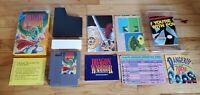 Dragon Warrior I 1 I i Nintendo NES Game Manual Box Hint Sheet Complete CIB Lot!