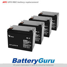 APC UPS SmartCell XR Replacement battery 4x VISION 6FM75 F2 terminal