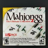 Mahjongg The Ultimate Collection 2 For PC New Sealed