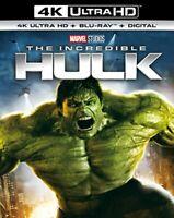 The Incredible Hulk (4K UHD) [Bluray] [Region Free] [DVD]