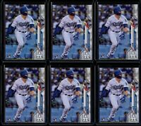 2020 Topps Series 1 #292 Gavin Lux 6 Card RC Lot Rookie Los Angeles Dodgers