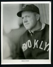Burleigh Grimes circa 1970 's Press Wire Photo Brooklyn Dodgers