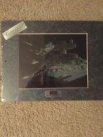 Star Wars Chromart 1994 Star Destroyer & Millenium Falcon