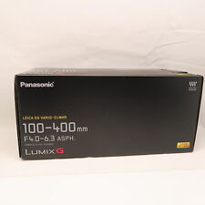 NEW Panasonic 100-400mm LEICA DG VARIO-ELMAR f/4.0-6.3 ASPH Power O.I.S Lens UK