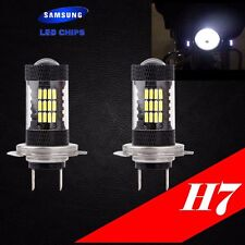 H7 Samsung LED Chip 57 SMD Xenon Hyper White 6000K Lamp Light Bulb For Bike